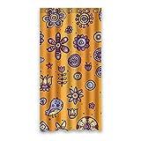 Once Young–Creative Cartoon-Muster Lila Vorhang für die Dusche, Polyester Stoff wasserdicht Duschvorhang Badezimmer Deko 91,4x 182,9cm (90x 183cm), Polyester, K, 36