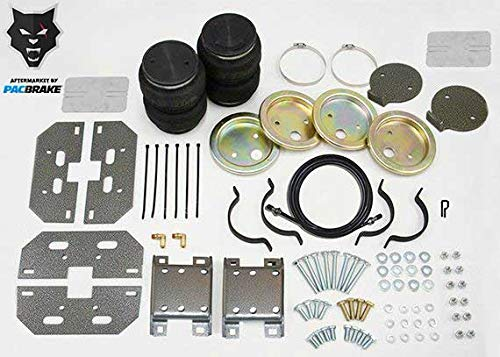 Pacbrake HP10002 Rear Air Suspension Kit compatible with Dodge RAM 1500/2500/3500 03-20