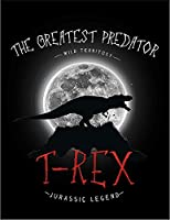 【ティラノザウルス 恐竜】 余白部分にオリジナルメッセージお入れします!ポストカード・はがき(黒背景)