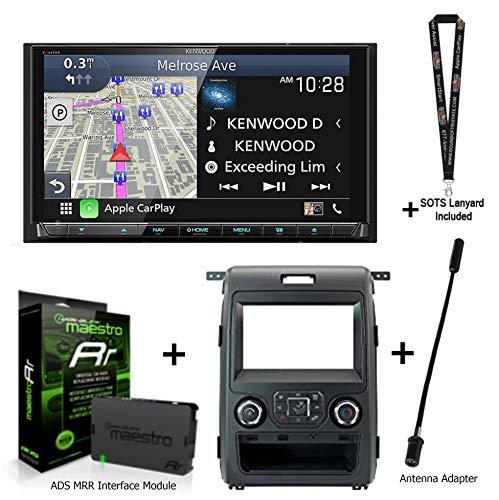 Kenwood Excelon DNX997XR Navigation Receiver + ADS iDatalink KIT K150 Compatible with F150 + ADS-MRR2 + Sound of Tri-State Lanyard Bundle
