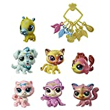 Littlest Pet Shop - Boule de Crystal - 7 figurines singles et une cocotte