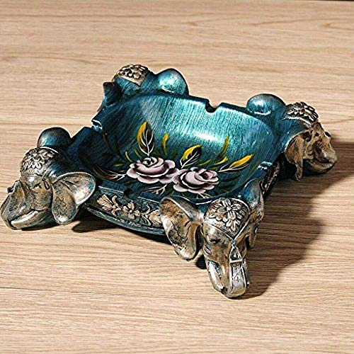 Taoke Arte Decoraciones Artesanía Cenicero Retro Vivir Regalo de los Hombres de Las Habitaciones dongdong