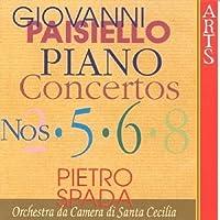 Paisiello: Piano Concertos 2 5 6 & 8 (1996-09-01)