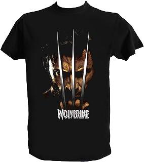 UZ Design Camiseta Wolverine Hombre Niño X Men Logan Claws Peliculas