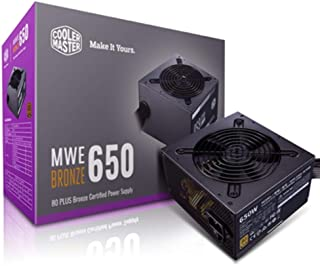 Cooler Master MWE 650 W 80 plus Bronze ACAAB Power Supply