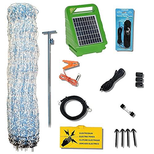 Starkline Standard Electric Poultry Netting Kit (Solar Energizer)