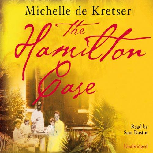 The Hamilton Case audiobook cover art
