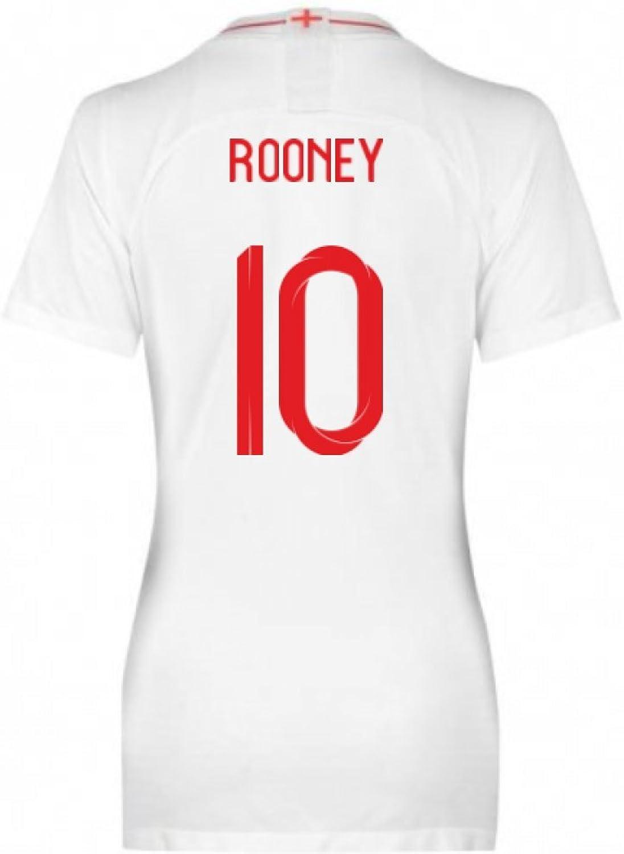 2018-2019 England Home Nike Womens Shirt (Rooney 10)