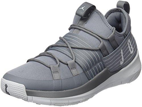 Nike Jordan Trainer Pro, Zapatos de Baloncesto para Hombre, Gris (Cool Grey/Pure Platinum/Pure Platinum), 44 EU