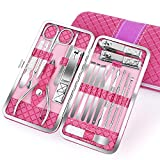 Best Cuticle Scissors - Nail Clippers Set 18PCS Manicure Set Manicure Review