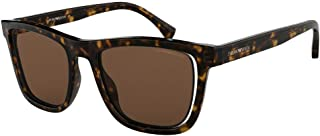 Emporio Armani - Armani EA4126F 508973-51 - Gafas de sol con marco Havana, color marrón EA4126F-508973-51