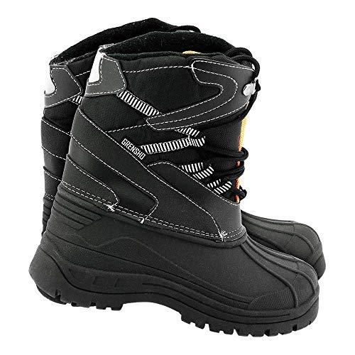 Reis BSNOW-FMN_BP43 Grensho buty zimowe, czarno-pomarańczowe, rozmiar 43