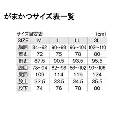 がまかつ(Gamakatsu)オールウェザースーツGM3459ブラックL.