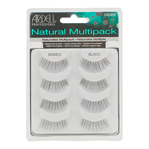 Ardell Professional Multipack Lashes 4 Pairs Babies Black by Ardell