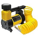 12 Volt Air Compressor, Portable Air Pump 12 Volt, Tire Inflator 140 PSI,...