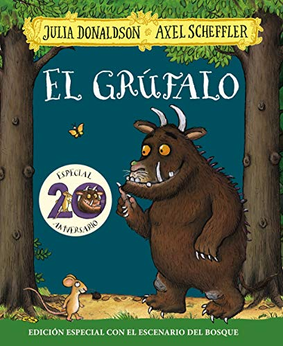 El grúfalo. Edición especial 20 aniversario (Castellano - A PARTIR DE 3 AÑOS - PERSONAJES - El grúfalo)