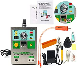 SUNKKO 709AD+ Pulse Spot Welder for Battery Pack with Intelligent Welding Function High Power Battery Spot Welder & Soldering Station