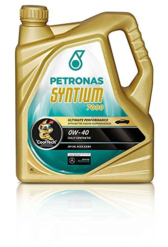 PETRONAS Syntium 7000 Motoröl Öl 0W40 5L 5 Liter ACEA A3/B4 API SN