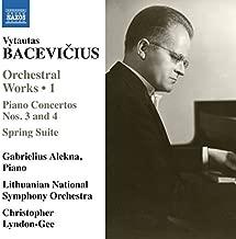 Bacevicius:Orchestral Works Vol. 1 [Gabriellius Alekna; Lithuanian National Symphony Orchestra , Christopher Lyndon-Gee] [NAXOS: 8573282] by Gabriellius Alekna