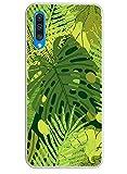 Oihxse Cover per Galaxy S7 Edge Cover,Custodia Gel Trasparente Antiurto Anti-Graffo Morbida Silicone Sottile TPU Ultra Leggera e Chiaro per Galaxy S7 Edge-Ultra Slim Fullbody Protezione (foglia)