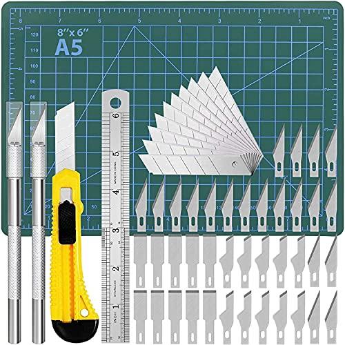 DIYSELF Precision Hobby Knife Upgrade Cutting Mat Carving Craft Knife Utility Knife