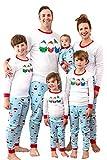 MjC International Infants Family Matching Christmas Pajama Sets, Festive Gnome, 6 Months