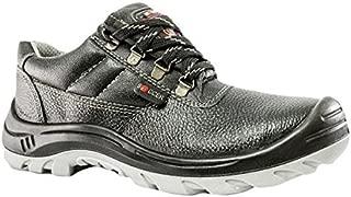 Hillson SA.SA32.429470 Soccer ISI Marked Safety Shoe (Size 8 UK),Black