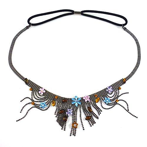 rougecaramel - Accessoires cheveux - Headband/bandeau/serre tête/bijou de tête - multicolore