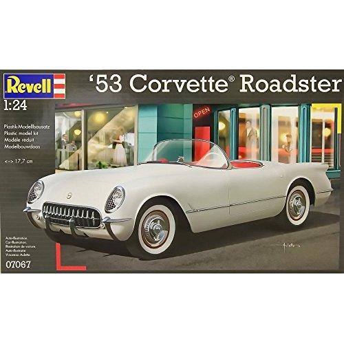 Revell - Maqueta 53 Corvette Roadster, Escala 1:24 (07067)