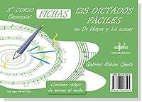 SIBEMOL - Dictados 3コ: 125 Dictados Faciles en Do Mayor y La menor (Roble Ojeda) (Audio Online)