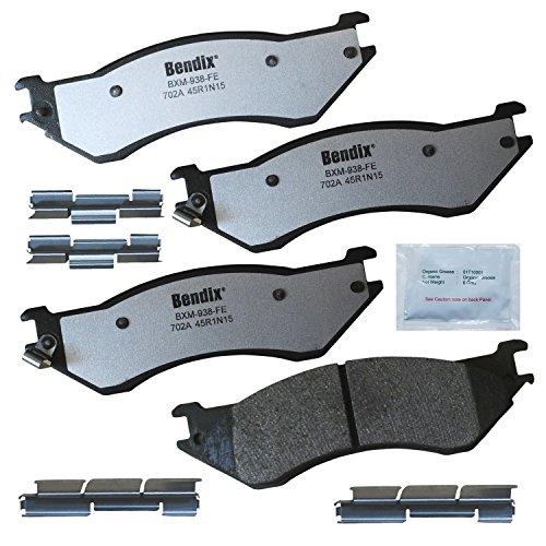 Bendix Fleet Metlok MKD702AFM Brake Pads