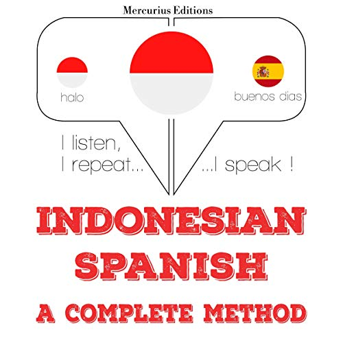 Indonesian – Spanish. A complete method cover art