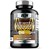 Creatine Xtreme - 4,200mg per Serving x 40 Servings - Creatine supplement with ALA and Vitamin D (240 Capsules)