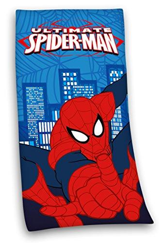 MARVELs SPIDERMAN BADETUCH DUSCHTUCH HANDTUCH 75x150cm 100% Baumwolle Velour