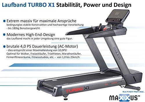 MAXXUS High-End Studio Laufband Turbo X1 Abbildung 2