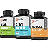 Get Leaner with Muscle Attack, BCAA and CLA