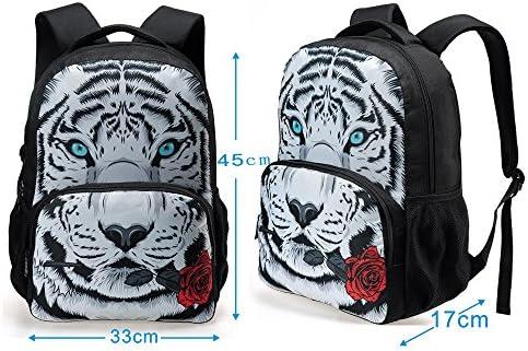 Galaxy print backpack _image4