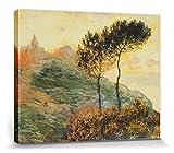 1art1 Claude Monet - Die Kirche In Varengeville, 1882