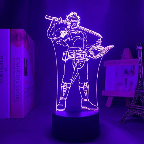 Ilustración 3D LED lámpara Anime Yona of the Dawn Hak for Bedroom Decorative Nightlight Birthday Gift Acrylic LED Night Light Yona of the Dawn Party Bar Atmosphere