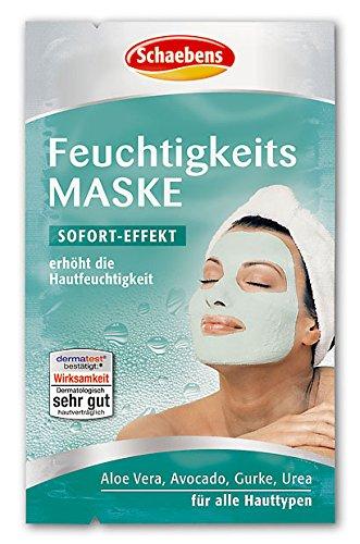 Preisvergleich Produktbild Schaebens Feuchtigkeits Maske,  10er Pack (10 x 10 ml)