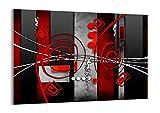 Impression sur Verre - Image sur Verre - Un élément - 70x50cm - 0599 - Tableaux pour la Mur - prete a Suspendre - Tableau en Verre - Motif Moderne - Décoration - Pret a accrocher - GAA70x50-0599