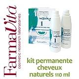 Kit permanente cheveux naturels FarmaVita - 110 ml