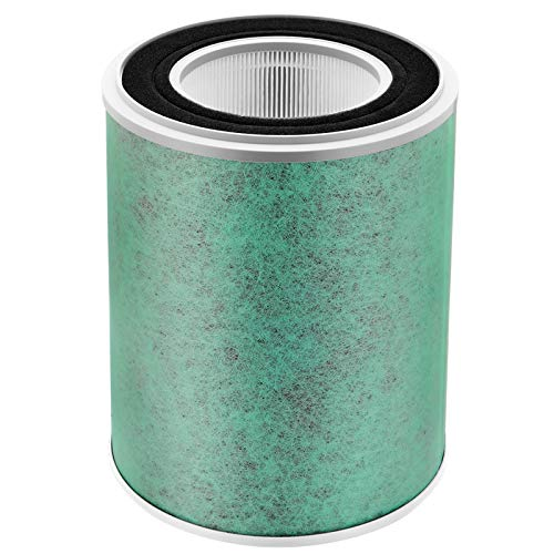 isinlive iL-380S Air Purifier Replacement Filter, True HEPA Filter, Activated Carbon Filter for Whole Home Air Purifiers, Clean Air Dust Filter (Pack of 1)
