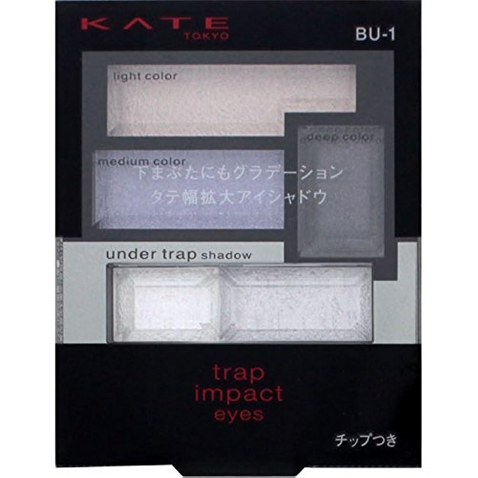恩恵広告主密接にカネボウ ケイト トラップインパクトアイズ BU-1