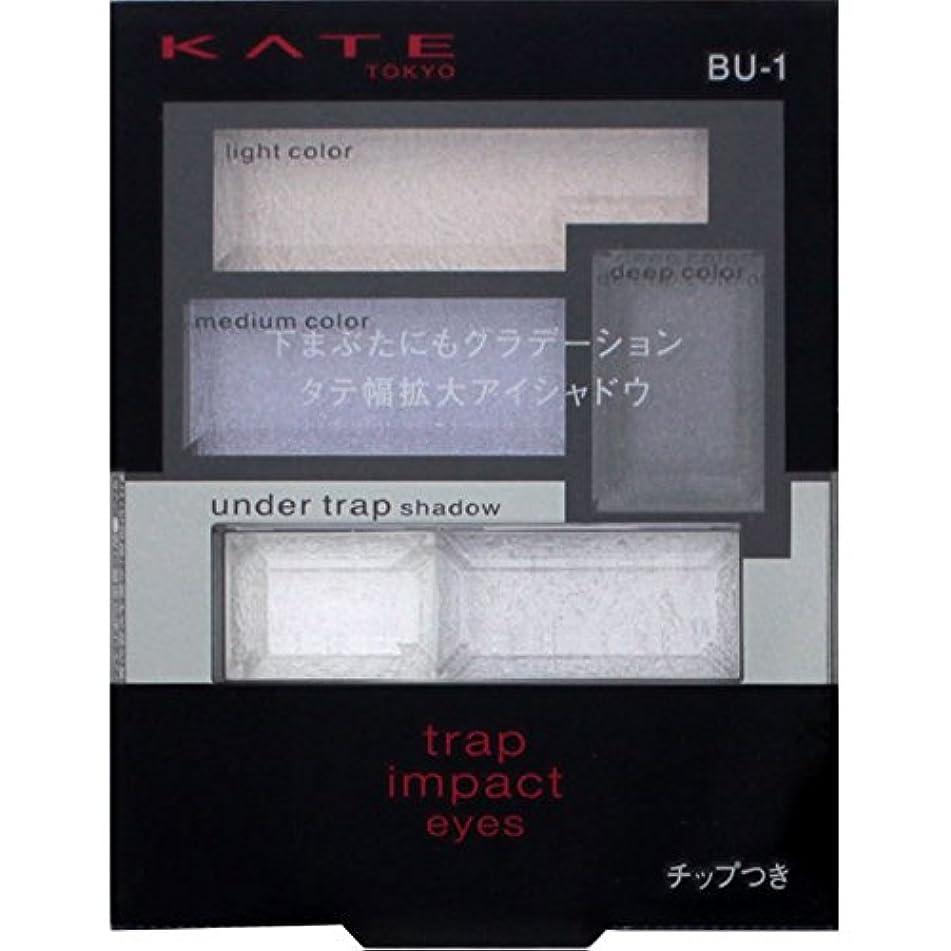 腐敗ご注意ネックレスカネボウ ケイト トラップインパクトアイズ BU-1
