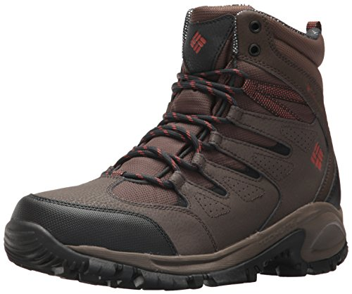 Columbia Men's Gunnison Omni-Heat Hiking Shoe, Cordovan, Sanguine, 13 D US