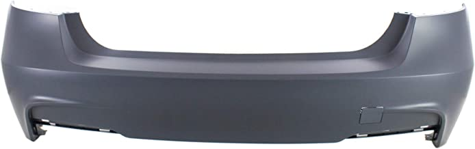 Rear Bumper Cover for BMW 3-SERIES 2013-2018 Primed with M Sport Line Sedan - CAPA