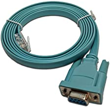 Cisco Compatible Console Cable 6FT DB9 to RJ45.
