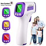Best Child Thermometers - Thermometer, Non-Contact Forehead Thermometer, Precise Fast, Fever Alarm Review