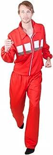 Bionic Man Costume Red